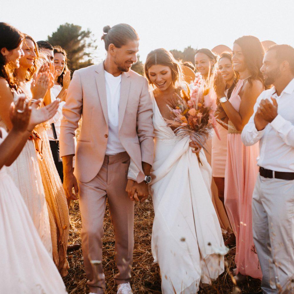 Justine Gala mariage cérémonie laïque